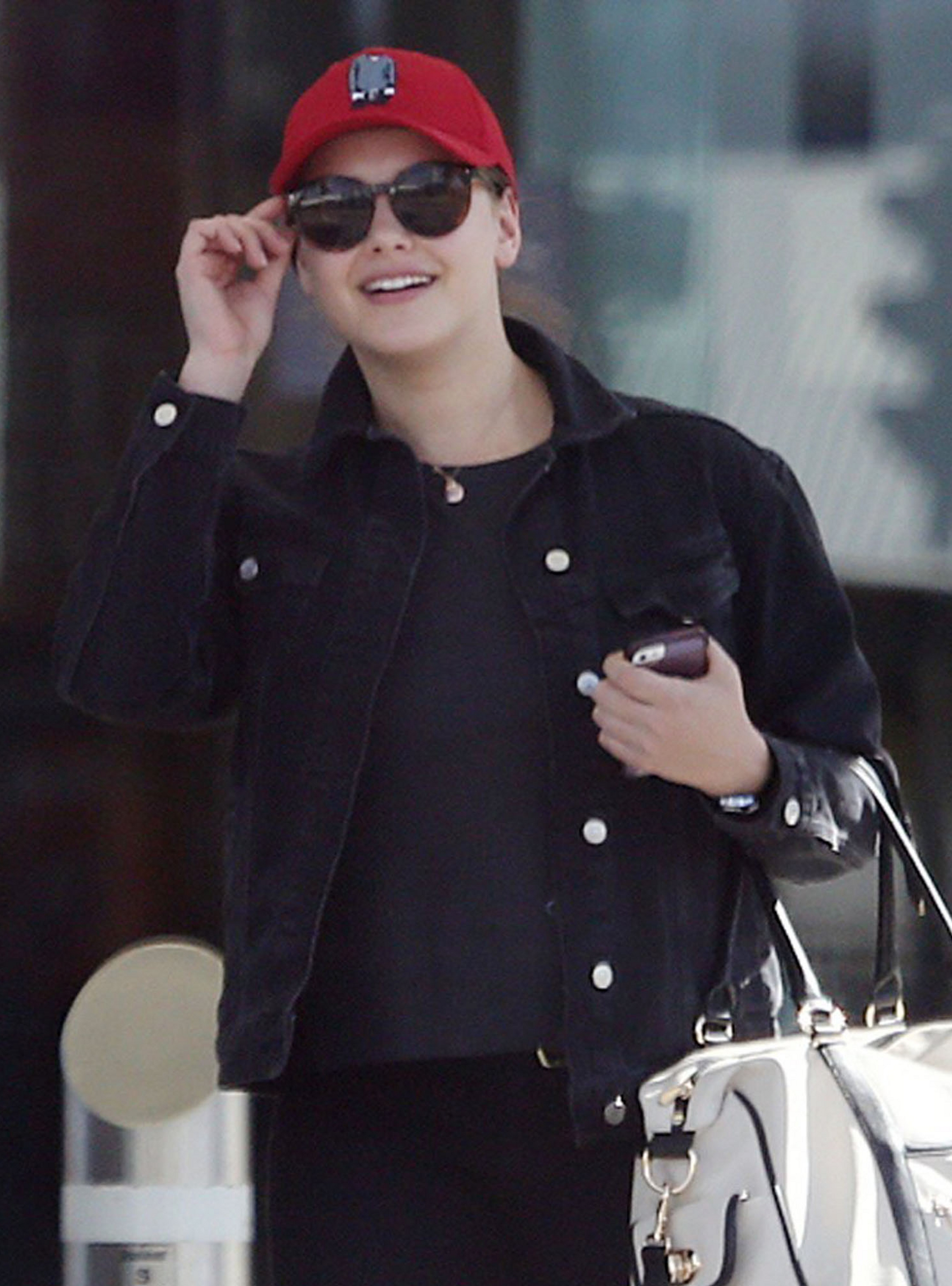 Arrives into Perth Airport [May 16]